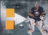 2010/11 Upper Deck Artifacts Frozen Artifacts Jersey Patch Blue #FARM Ryan Miller /50