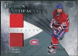 2010/11 Upper Deck Artifacts Frozen Artifacts Jersey Patch Blue #FASG Scott Gomez /50