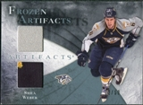2010/11 Upper Deck Artifacts Frozen Artifacts Jersey Patch Blue #FASW Shea Weber /50