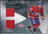 2010/11 Upper Deck Artifacts Frozen Artifacts Jersey Patch Blue #FATP Tomas Plekanec /50