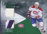 2010/11 Upper Deck Artifacts Frozen Artifacts Jersey Patch Emerald #FAAM Andrei Markov 22/25