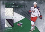 2010/11 Upper Deck Artifacts Frozen Artifacts Jersey Patch Emerald #FABR Derick Brassard 24/25