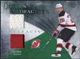 2010/11 Upper Deck Artifacts Frozen Artifacts Jersey Patch Emerald #FAEL Patrik Elias 11/25