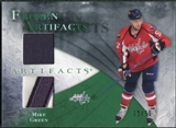 2010/11 Upper Deck Artifacts Frozen Artifacts Jersey Patch Emerald #FAMG Mike Green /25