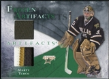 2010/11 Upper Deck Artifacts Frozen Artifacts Jersey Patch Emerald #FAMT Marty Turco /25