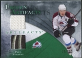 2010/11 Upper Deck Artifacts Frozen Artifacts Jersey Patch Emerald #FAPS Paul Stastny /25