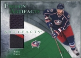 2010/11 Upper Deck Artifacts Frozen Artifacts Jersey Patch Emerald #FARN Rick Nash /25