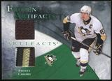2010/11 Upper Deck Artifacts Frozen Artifacts Jersey Patch Emerald #FASC Sidney Crosby 9/25