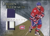 2010/11 Upper Deck Artifacts Frozen Artifacts Jersey Patch Gold #FABG Brian Gionta 13/15