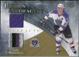 2010/11 Upper Deck Artifacts Frozen Artifacts Jersey Patch Gold #FALR Luc Robitaille 14/15