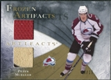 2010/11 Upper Deck Artifacts Frozen Artifacts Jersey Patch Gold #FAMU Peter Mueller /15