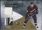 2010/11 Upper Deck Artifacts Frozen Artifacts Jersey Patch Gold #FAPE Corey Perry /15
