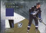 2010/11 Upper Deck Artifacts Frozen Artifacts Jersey Patch Gold #FAVL Vincent Lecavalier 15/15