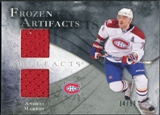 2010/11 Upper Deck Artifacts Frozen Artifacts Silver #FAAM Andrei Markov /50
