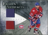2010/11 Upper Deck Artifacts Frozen Artifacts Silver #FABG Brian Gionta 1/50