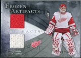 2010/11 Upper Deck Artifacts Frozen Artifacts Silver #FACO Chris Osgood /50