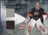 2010/11 Upper Deck Artifacts Frozen Artifacts Silver #FACW Cam Ward /50