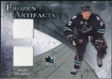 2010/11 Upper Deck Artifacts Frozen Artifacts Silver #FADH Dany Heatley /50