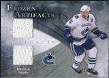2010/11 Upper Deck Artifacts Frozen Artifacts Silver #FAHS Henrik Sedin 42/50
