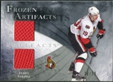 2010/11 Upper Deck Artifacts Frozen Artifacts Silver #FAJS Jason Spezza 20/50