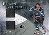 2010/11 Upper Deck Artifacts Frozen Artifacts Silver #FAJT Joe Thornton 13/50