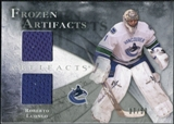 2010/11 Upper Deck Artifacts Frozen Artifacts Silver #FARL Roberto Luongo /50
