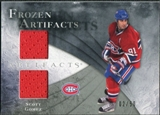 2010/11 Upper Deck Artifacts Frozen Artifacts Silver #FASG Scott Gomez 2/50