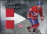 2010/11 Upper Deck Artifacts Frozen Artifacts Silver #FATP Tomas Plekanec /50
