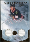 2010/11 Upper Deck Artifacts Jerseys Bronze #3 Jonathan Toews /150