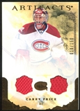 2010/11 Upper Deck Artifacts Jerseys Bronze #7 Carey Price 10/150