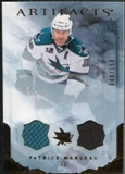 2010/11 Upper Deck Artifacts Jerseys Bronze #21 Patrick Marleau 48/150