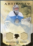 2010/11 Upper Deck Artifacts Jerseys Bronze #22 Marc-Andre Fleury /150