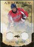 2010/11 Upper Deck Artifacts Jerseys Bronze #23 Alexander Ovechkin 37/150