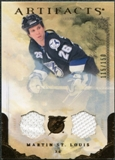 2010/11 Upper Deck Artifacts Jerseys Bronze #28 Martin St. Louis 115/150