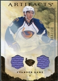 2010/11 Upper Deck Artifacts Jerseys Bronze #30 Evander Kane /150
