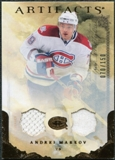 2010/11 Upper Deck Artifacts Jerseys Bronze #31 Andrei Markov /150