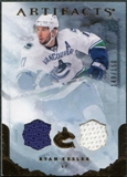 2010/11 Upper Deck Artifacts Jerseys Bronze #40 Ryan Kesler /150