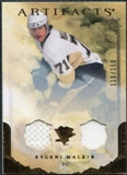 2010/11 Upper Deck Artifacts Jerseys Bronze #54 Evgeni Malkin /150