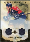 2010/11 Upper Deck Artifacts Jerseys Bronze #55 Stephen Weiss /150
