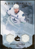 2010/11 Upper Deck Artifacts Jerseys Bronze #58 Henrik Sedin 65/150