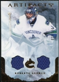 2010/11 Upper Deck Artifacts Jerseys Bronze #61 Roberto Luongo /150