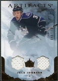 2010/11 Upper Deck Artifacts Jerseys Bronze #78 Jack Johnson /150