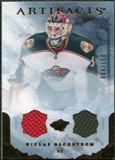 2010/11 Upper Deck Artifacts Jerseys Bronze #87 Niklas Backstrom 64/150