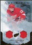 2010/11 Upper Deck Artifacts Jerseys Bronze #90 Pavel Datsyuk 34/150