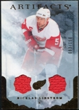 2010/11 Upper Deck Artifacts Jerseys Bronze #95 Nicklas Lidstrom /150