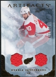 2010/11 Upper Deck Artifacts Jerseys Bronze #99 Henrik Zetterberg /150