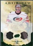 2010/11 Upper Deck Artifacts Jerseys Patches Emerald #27 Cam Ward /50