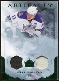 2010/11 Upper Deck Artifacts Jerseys Patches Emerald #44 Anze Kopitar /50