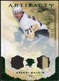 2010/11 Upper Deck Artifacts Jerseys Patches Emerald #54 Evgeni Malkin /50