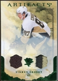 2010/11 Upper Deck Artifacts Jerseys Patches Emerald #62 Sidney Crosby 14/50